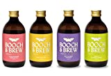 Booch & Brew Award Winning Organic Kombucha – Mixed Case of...