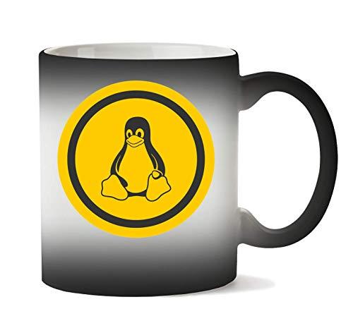 1GD Linux Penguin Tasse Hitze Farbwechsel