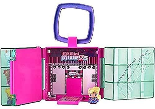 Mattel DXD59 - MyMiniMixieQs Spielkoffer, Minipuppen-Zubehör