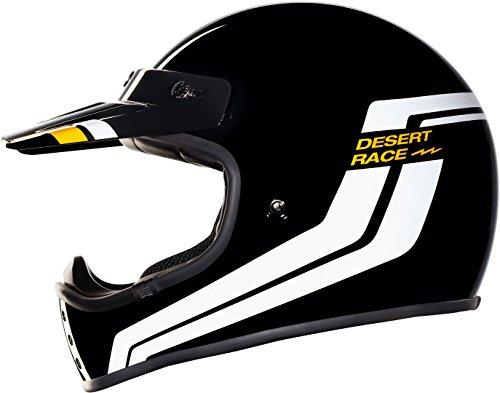 NEXX CASCO INTEGRALE VINTAGE XG.200 DESERT RACE BLACK (L)