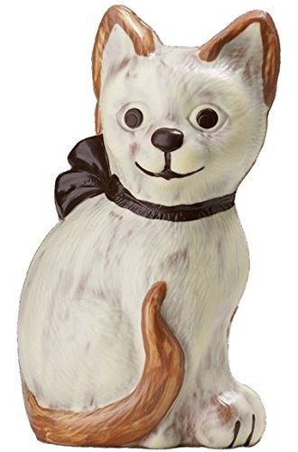 01#071520 Schokoladen Tiere, Muttertag, 400 gr, 25 cm, große Katze, Hund, Dalmatiner, Geschenk, Geburtstag