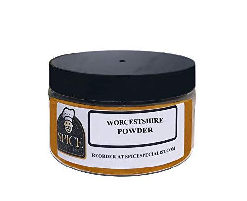 Spice Specialist Worcestershire - 4oz. Jar (Holds 3 oz.) - Kosher