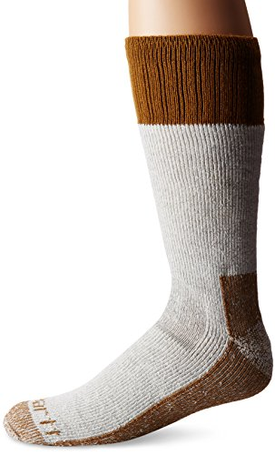 Carhartt Men's XL (US Extremes Cold Weather Boot Socks, Brown, Shoe Size: 11-15
