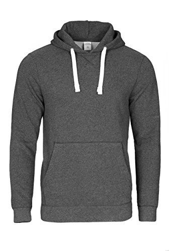 Casual Standard I Pullover Herren I Hoodie Männer I Jungen Kapuzenpullover I Men Sweater dunkelgrau XL