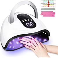 Liaboe 120w LED Nail Polish Dryer with 4 Time Setting & LCD Screen