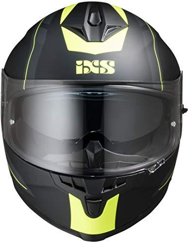 IXS CASCO INTEGRALE 1100 2.0 NERO OPACO-GIALLO S