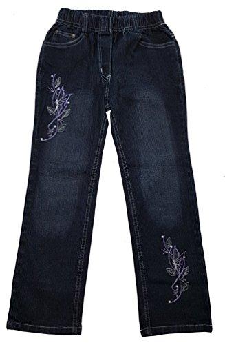 Unbekannt Bequeme Mädchen Jeans mit rundum Gummizug, Gr. 140/146, M3.12