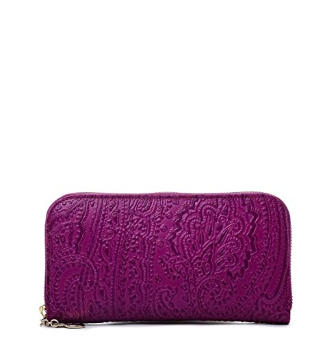 Etro Luxury Fashion Donna 1B1072744655 Viola Portafoglio | Primavera Estate 19