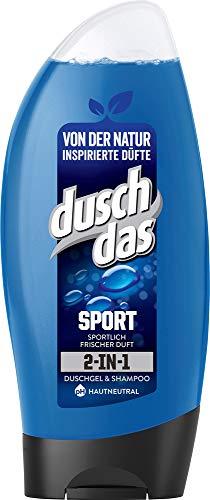 Duschdas Duschgel, für einen aktiven Tag mit sportlich-frischem Duft (6 x 250 ml)