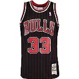 Mitchell & Ness Swingman Scottie Pippen Chicago Bulls 95/96 - Camiseta (talla M), color negro