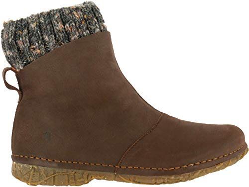El Naturalista Damen Ankle Boots Angkor, Frauen Stiefelette, weibliche Ladies feminin elegant Women's Women Woman Freizeit leger,Brown,38 EU / 5 UK