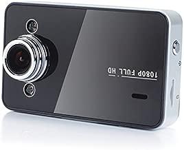 K6000 Dash Cam, Full HD 1080P 165 Wide Angle Dashboard Camera, Car DVR Vehicle Dash Cam with G-Sensor, WDR Superior Night Mode, Loop Recording, Black