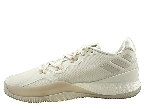 Adidas Crazy Light Boost 2018, Zapatillas de Baloncesto Hombre, Blanco (Balcri/Pertiz/Ftwbla 000), 49 1/3 EU
