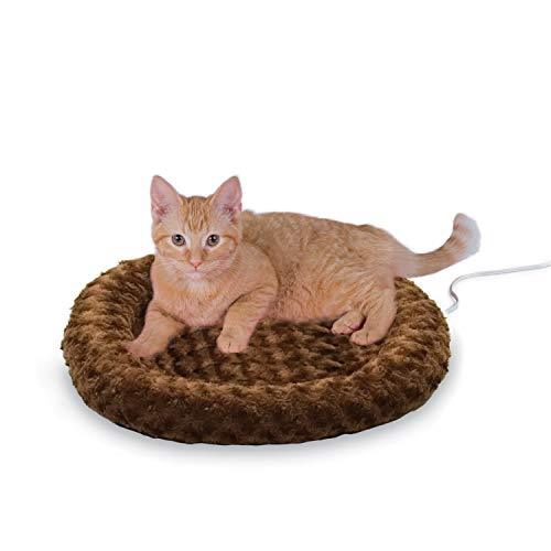 K&H Thermo-Kitty Heated Cat Bed warming cat mat