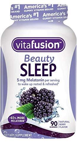 Vitafusion Beauty Sleep Gummies Berry, 90 Count (Pack of 2)