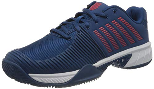 K-Swiss Performance KS Tfw Express Light 2 HB-Dark Blue/Wht/bitterswt, Zapatos de Tenis Hombre, Azul Oscuro/Blanco/Agridulce, 44 EU