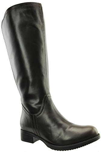 JJ Footwear Women's Flensburg XL 40.4 cm - 48.1 cm Espresso Denver Leather Boot 36 F EU
