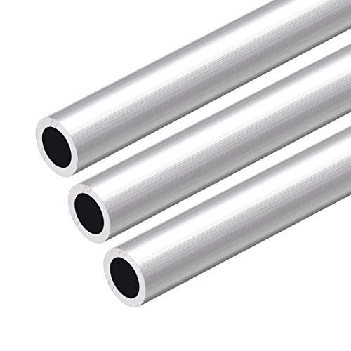 Tubo Redondo de 6063 Aluminio, 3x Tubos de Aluminio,...