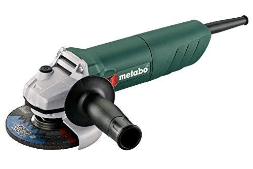Metabo W 750-125 - Amoladora angular (11000 RPM, Negro, Verde, Gris, 1,7 Nm, M14, 88 dB, 3 dB)