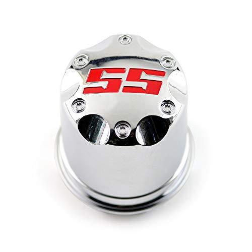 XLBHD 1 Unidad de 75 mm para Carrito de Golf ITP, buje de Tapa Central de Rueda de Coche Brillante para Llantas, tapacubos de Ruedas Doradas, Rojas y Azules