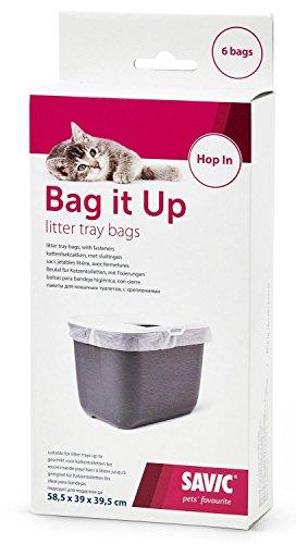 Savic BAG IT UP Beutel für Katzentoilette HOP IN und ähnliche Toiletten - 6 Beutel