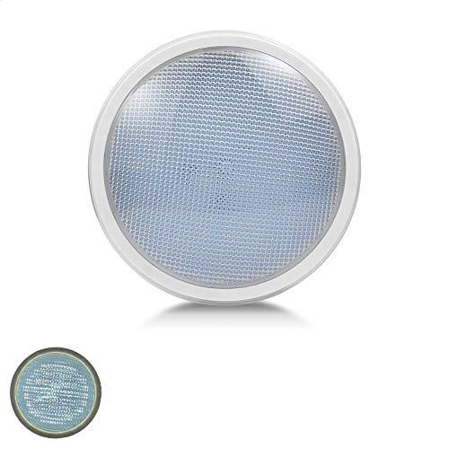LED PAR56 Poolbeleuchtung Schwimmbadlampe 12V AC IP68 für dein Pool oder Schwimmbecken in Weiß oder Warmweiß in verschiedenen Leistungstufen ersetzt bis zu 300W Halogen Spot (Kaltweiß, 70W)