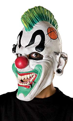 Generique - Máscara Payaso Punky Adulto