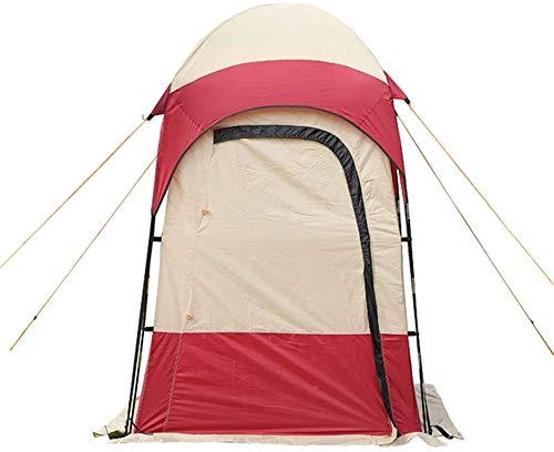 Tiendas de campaña para acampar Tienda de ducha al aire libre tienda de campaña al aire libre Camping Ducha Cuarto de baño Privacidad Aseo Cambio de vestuario Refugio Un solo Tiendas plegables en movi