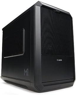 Zalman M1 Carcasa de Ordenador Mini-Tower Negro - Caja de Ordenador (Mini-Tower, PC, Mini-ITX, Negro, 1x 120 mm, 1x 120 mm)