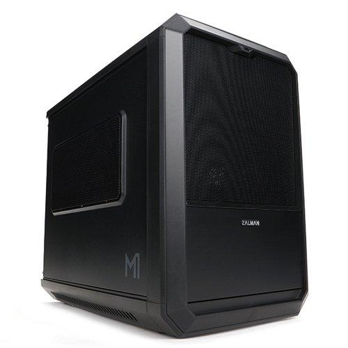 Zalman M1 Mini-Tower PC-Gehäuse (Mini-ITX, 1x Externe 5,25, 2X interne 2,5, 2X USB 3.0) mit Lüfter (120 mm)