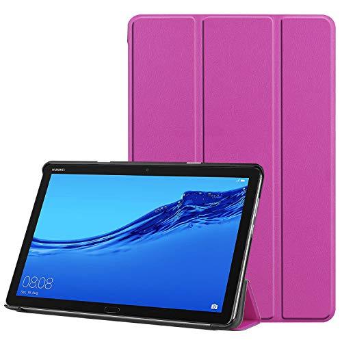 VOVIPO Huawei MediaPad M5 Lite 10-Zoll-Tablet-Standplatz-Fall, Ultra Slim Lightweight Smart Cover für Huawei MediaPad M5 Lite 10-Zoll-Tablet