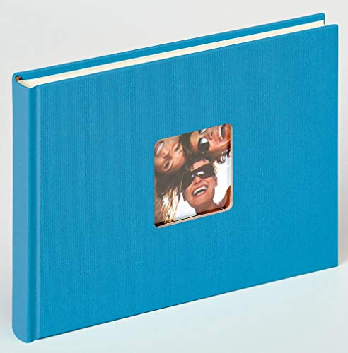 Walther Design Fun Album da Incollare, Carta, Blu (Oceano), 22 x 16 cm