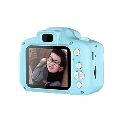 VIDOO X2 Appareil Photo Numérique pour Enfants 2.0 inches Caméra Vidéo Fonction Caméra pour Enfants Appareil Photo Cadeau avec Carte Mémoire- Vert