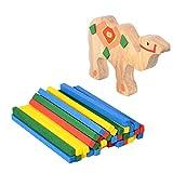 Los Animales De Madera Bloques De Amontonamiento De Equilibrio Niños De Juguete Aprendizaje Temprano Bloque Juego De Equilibrio Bebé De Juguete Sensorial Montessori Juguete De Aprendizaje Para Niños