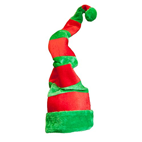 Giant Crazy Elf Hat Outfit Accessory for Christmas Nativity Fancy Dress