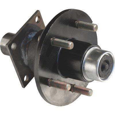 Tie Down Engineering 5-Lug Hub/Spindle End Unit for Build your own Trailer Axle System - 1750-Lb. Capacity Per Hub, Model Number 80117