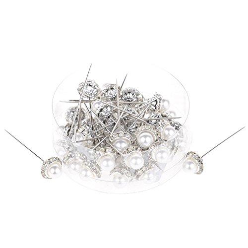 Floral Arrangement Pearl épingles à tête diam 36 pièces 13 x 60 mm Mariage Arts & Crafts