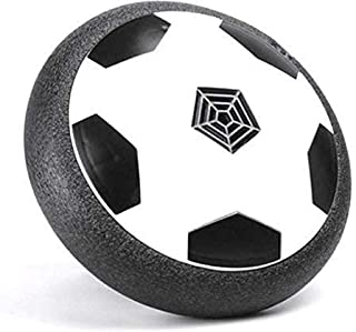 Selling Stuff to Everyone Kids Toys Hover Ball - Soccer Disc with LED Lights and Foam Bumpers for Indoor and Outdoor Game-Air Power Soccer disc (2 Pack)