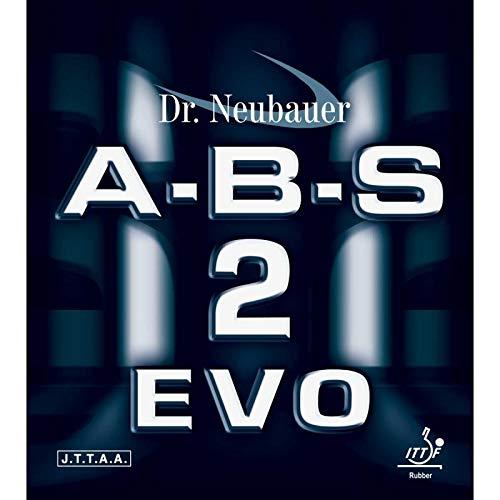 DR. NEUBAUER Belag A-B-S 2 Evo (Anti) Optionen 2,5 mm, rot