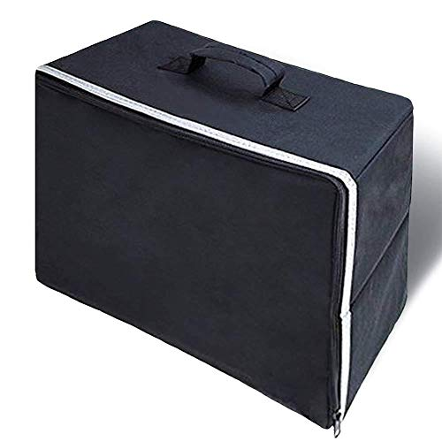 Funihut tas voor naaimachine, beschermtas met handvat voor naaimachine, robuust, opbergtas voor naaimachine, accessoires, opbergtas