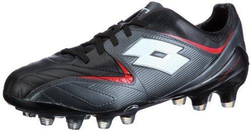 Lotto FUERZAPURA II 100 FG, Chaussures de Sport Homme - Noir-TR-I3-80, 41 EU
