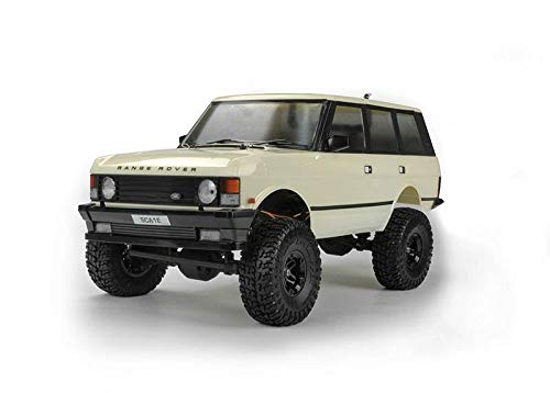 Carisma Scale Adventure SCA-1E 1981 Land Rover Range Rover RTR (Wheel Base 324Mm), Official Licensed