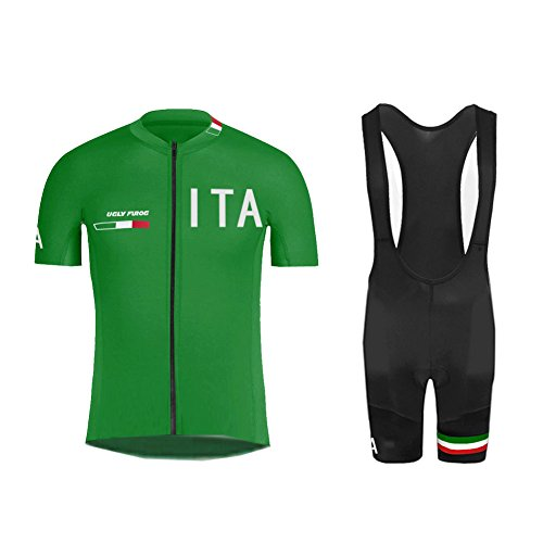 Uglyfrog 2018-2019 New Jersey Uomo MTB Triathlon Body Magliette + Salopette Sets Mountain Bike Manica Corta Camicia Top Abbigliamento Ciclismo Estate Style DX05