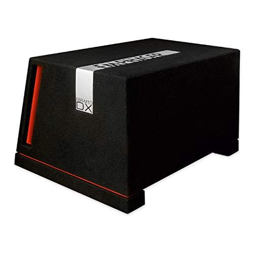 EMPHASER EBR-M10DX: Druckvoller 25 cm / 10 Zoll Subwoofer, Bass Box fürs Auto, MDF Bassreflex Gehäuse bestückt mit High-Performance Woofer (2 x 2 Ohm Doppel Schwingspule), 1000 W
