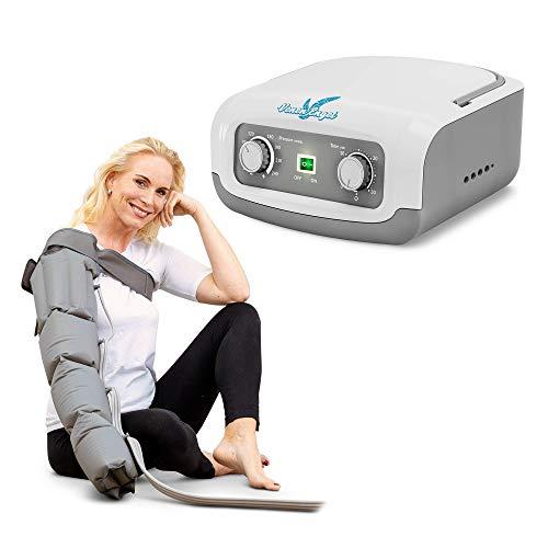 Venen Engel ® 4 Gleitwellen Massage-Gerät mit Armmanschette, 4 Luftkammern, Druck & Zeit unkompliziert einstellbar
