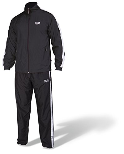 Paffen Sport Team II Trainingsanzug; schwarz; GR: L