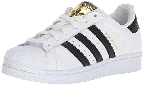 adidas Originals Superstar J, Zapatillas Niños Unisex Adulto, Easy Blue White Core Negro, Medium EU
