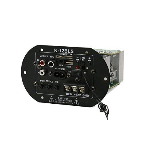 CESULIS Stereo Subwoofer decodificador Tablero del Amplificador del Coche del Altavoz Placa...