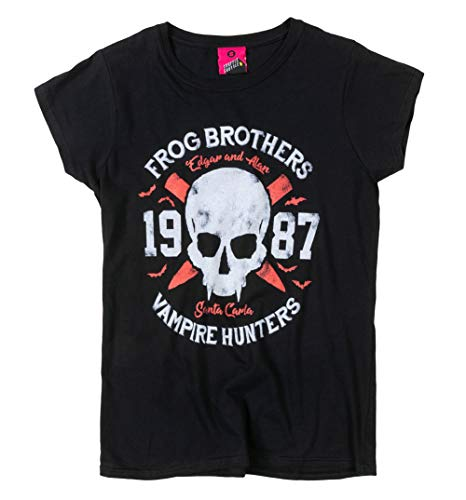 Frog Brothers Vampire Hunters Fitted T-shirt, XS to XXL