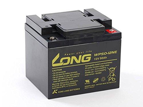 Kung Long de Gel de plomo eléctrico batería 12 V 50Ah gran número de ciclos de como movimiento 45Ah Gel ✅